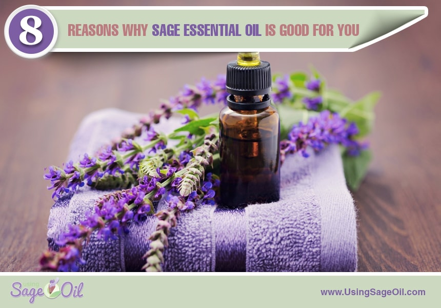 sage essential oil for the body